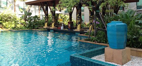 Hoteltipp Bangkok: günstige Hotels mit Pool