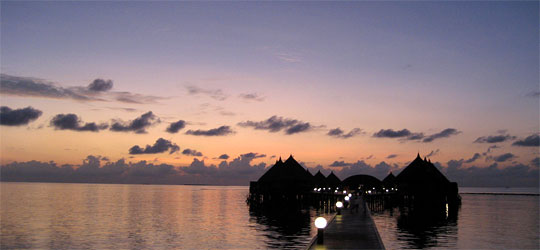 Wetter Malediven