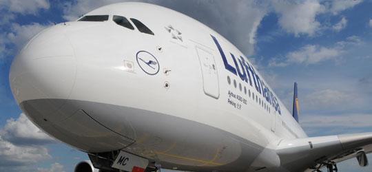 Lufthansa A380 Angebote
