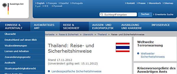 Reisehinweis-bangkok